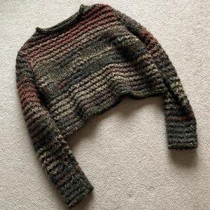 Zara Crop Sweater _ Size S